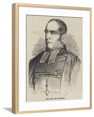 The Reverend Mr Gorham--Framed Art Print