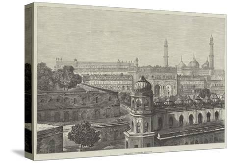 The Great Imambara, Lucknow--Stretched Canvas Print
