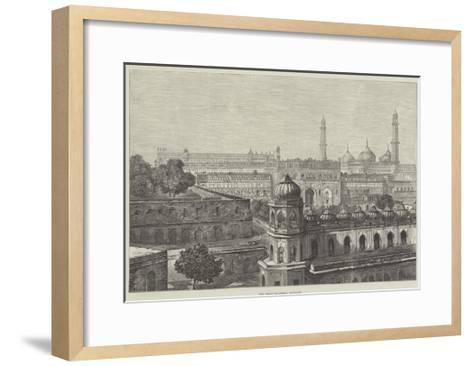 The Great Imambara, Lucknow--Framed Art Print