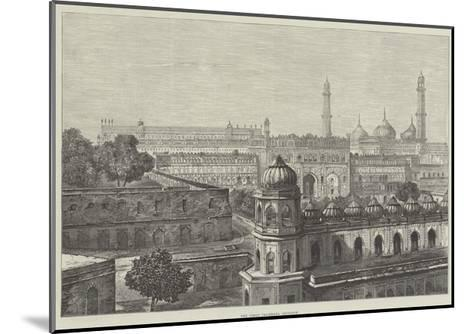 The Great Imambara, Lucknow--Mounted Giclee Print