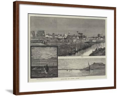 Sketches of Upper Egypt--Framed Art Print