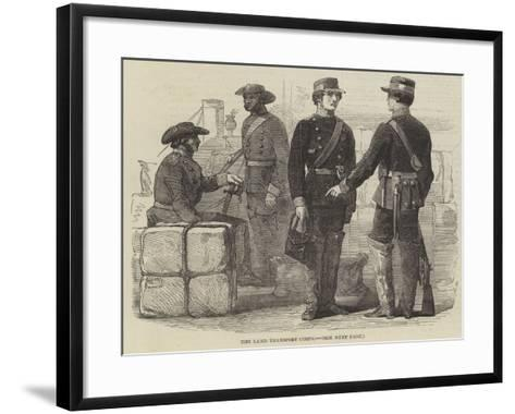 The Land Transport Corps--Framed Art Print