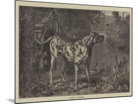 Guarding the Preserves--Mounted Giclee Print