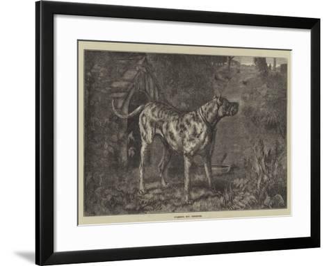 Guarding the Preserves--Framed Art Print
