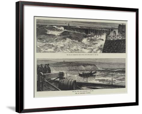 Oil on Troubled Waters--Framed Art Print