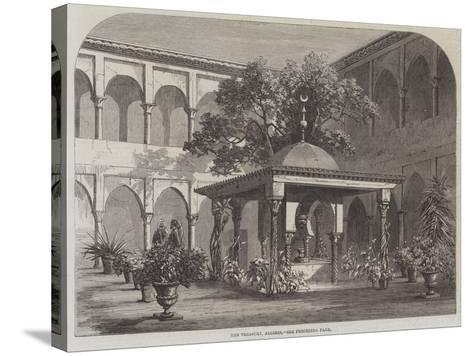 The Treasury, Algiers--Stretched Canvas Print