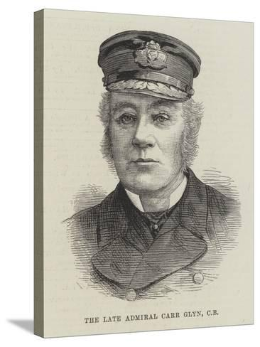 The Late Admiral Carr Glyn--Stretched Canvas Print