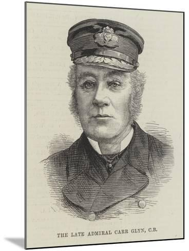 The Late Admiral Carr Glyn--Mounted Giclee Print