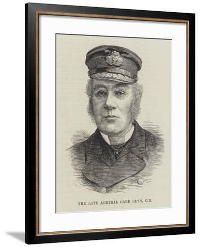 The Late Admiral Carr Glyn--Framed Art Print