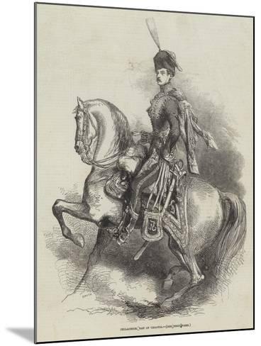Jellachich, Ban of Croatia--Mounted Giclee Print