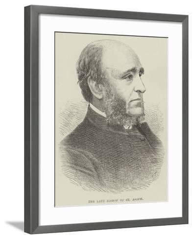 The Late Bishop of St Asaph--Framed Art Print