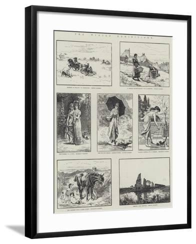 The Winter Exhibitions--Framed Art Print