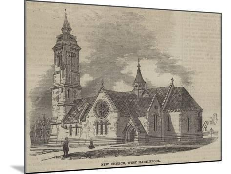 New Church, West Hartlepool--Mounted Giclee Print