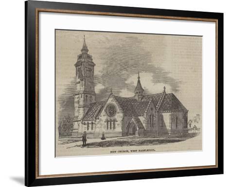 New Church, West Hartlepool--Framed Art Print