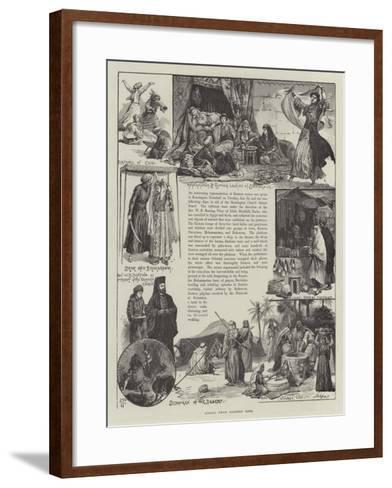 Scenes from Eastern Life--Framed Art Print