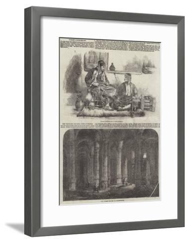 Scenes in Constantinople--Framed Art Print
