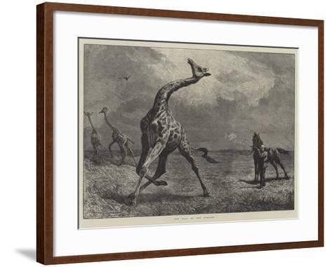 The Fall of the Giraffe--Framed Art Print