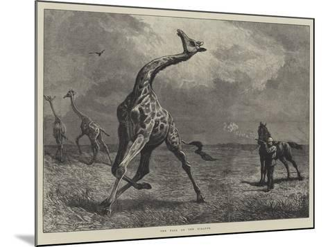 The Fall of the Giraffe--Mounted Giclee Print