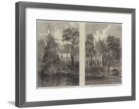The Life of James Watt--Framed Art Print