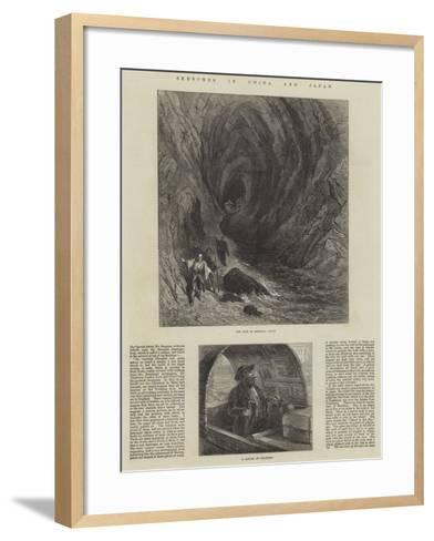 Sketches in China and Japan--Framed Art Print