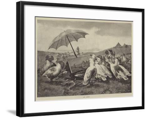 Art Critics--Framed Art Print