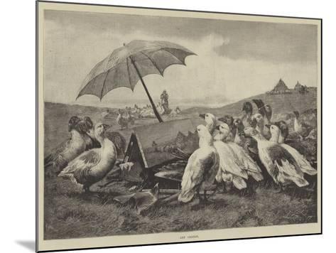 Art Critics--Mounted Giclee Print