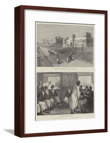 Sketches in Zanzibar--Framed Art Print