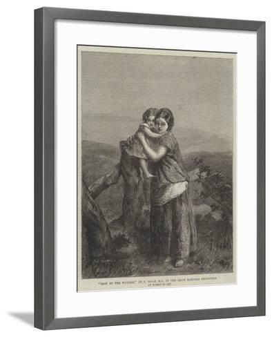Rest by the Wayside--Framed Art Print