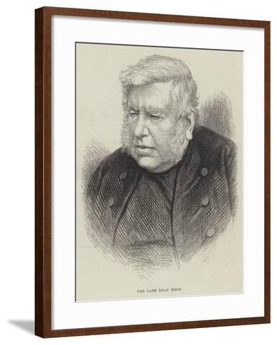 The Late Dean Hook--Framed Art Print