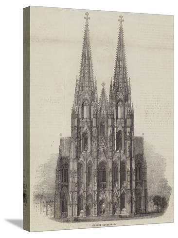 Cologne Cathedral--Stretched Canvas Print