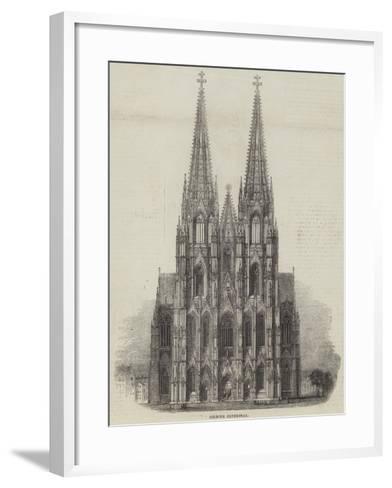 Cologne Cathedral--Framed Art Print