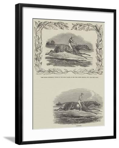 York Spring Meeting--Framed Art Print