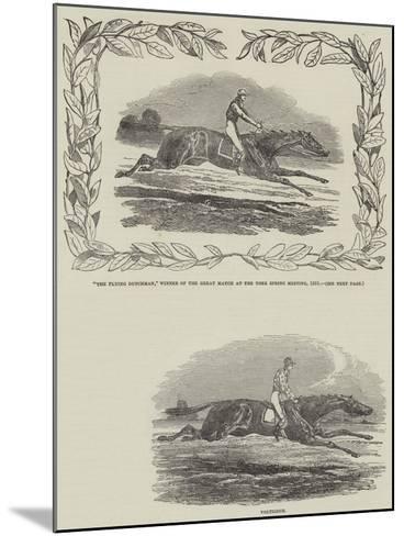 York Spring Meeting--Mounted Giclee Print
