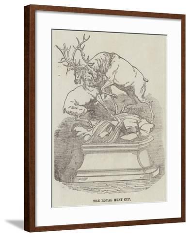 The Royal Hunt Cup--Framed Art Print
