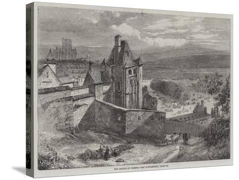 The Castle of Dieppe--Stretched Canvas Print