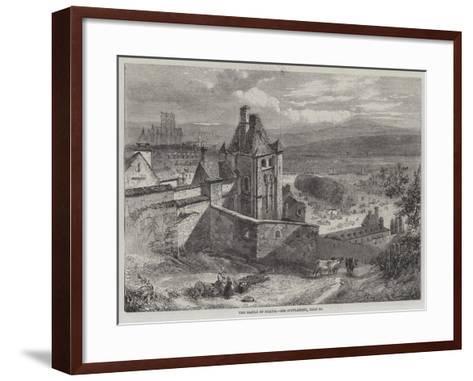 The Castle of Dieppe--Framed Art Print