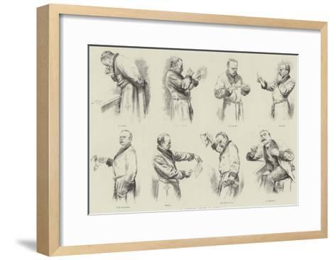A Letter from a Dun--Framed Art Print