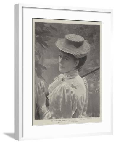 Ye Compleat Angler--Framed Art Print