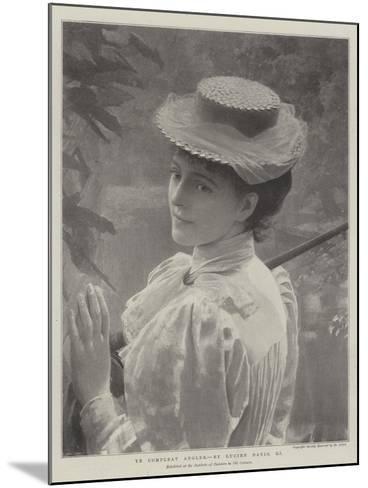 Ye Compleat Angler--Mounted Giclee Print