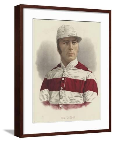 Tom Cannon--Framed Art Print