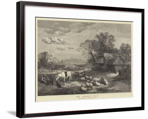 The Drover's Halt--Framed Art Print