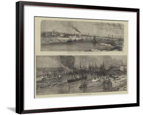 Scenes in Glasgow--Framed Art Print