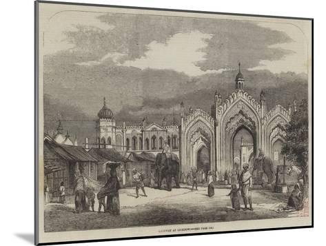 Gateway at Lucknow--Mounted Giclee Print