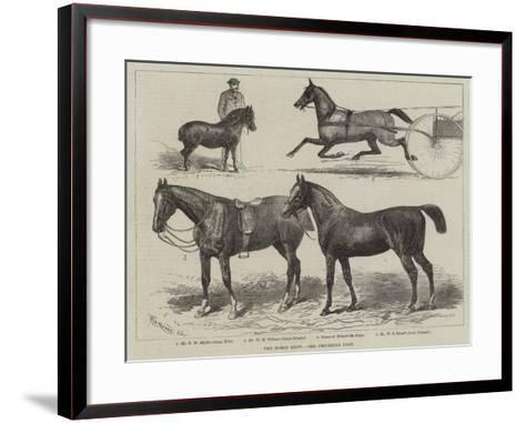 The Horse Show--Framed Art Print