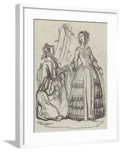 The Fashions--Framed Art Print