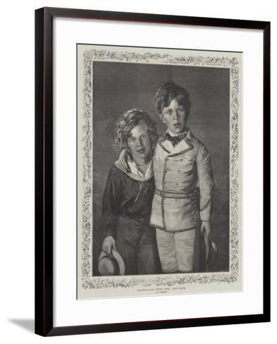 Our Boys--Framed Art Print