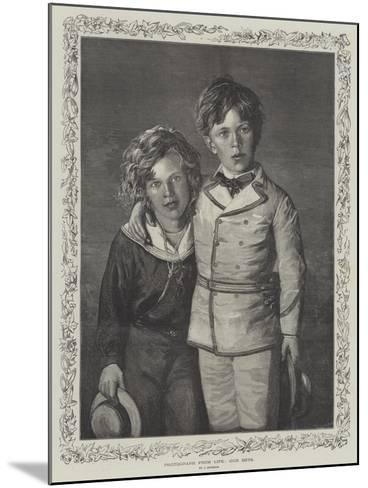 Our Boys--Mounted Giclee Print