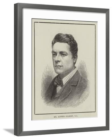 Mr Alfred Gilbert--Framed Art Print