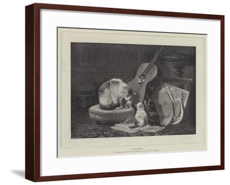 Chamber Music--Framed Art Print