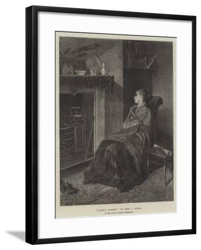 Hardly Earned--Framed Art Print